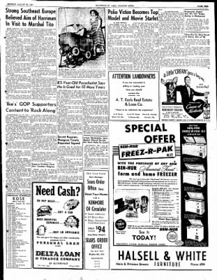 The Courier News from Blytheville, Arkansas on August 27, 1951 · Page 9