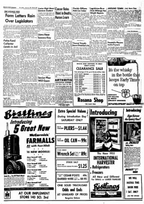 idaho state journal from pocatello idaho on january 27 1955 page 13 1955 Jeep CJ