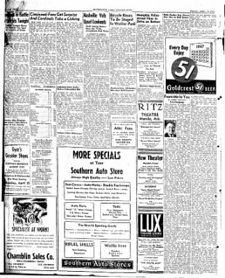 The Courier News from Blytheville, Arkansas on April 18, 1947 · Page 2