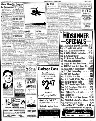 The Courier News from Blytheville, Arkansas on July 28, 1949 · Page 11