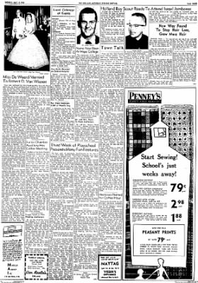 The Holland Evening Sentinel from Holland, Michigan on July 17, 1961 · Page 11