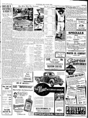 The Courier News from Blytheville, Arkansas on April 29, 1938 · Page 5