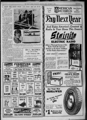 The Evening Journal from Wilmington, Delaware on December 14, 1928 · Page 47