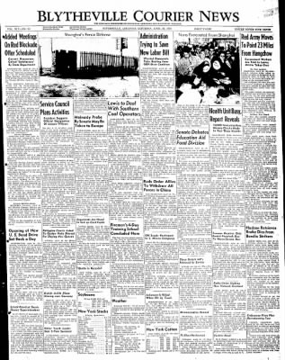 The Courier News from Blytheville, Arkansas on April 30, 1949 · Page 1