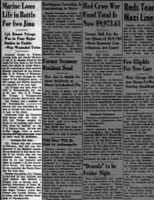 Obituary for Marine who was killed in action during the Battle of Iwo Jima