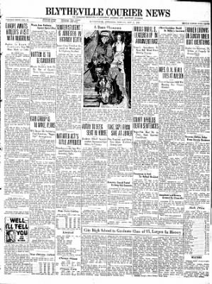 The Courier News from Blytheville, Arkansas on May 2, 1938 · Page 1
