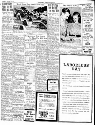 The Courier News from Blytheville, Arkansas on August 28, 1939 · Page 1
