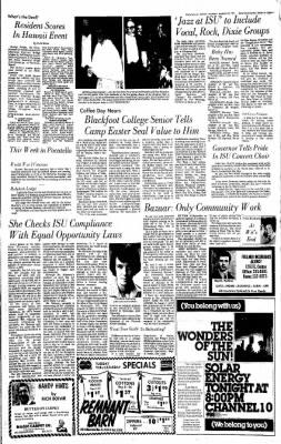 Idaho State Journal from Pocatello, Idaho on March 25, 1975