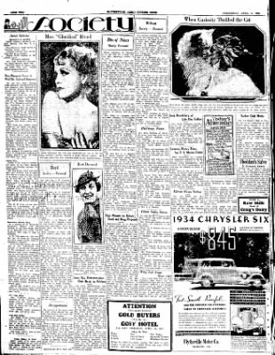 The Courier News from Blytheville, Arkansas on April 25, 1934 · Page 2