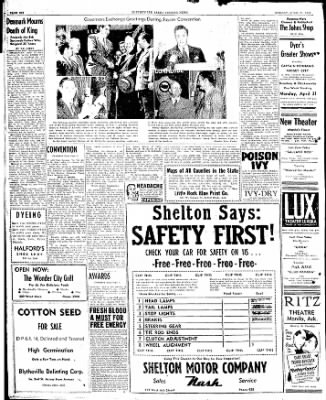 The Courier News from Blytheville, Arkansas on April 21, 1947 · Page 6