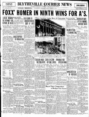 The Courier News from Blytheville, Arkansas on October 6, 1930 · Page 1