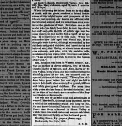 Feather River Bulletin from Quincy, California on October 19, 1878