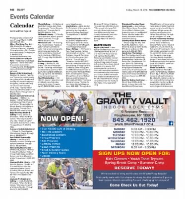 Poughkeepsie journal events