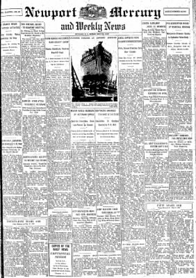 Newport Mercury from Newport, Rhode Island on May 10, 1946 · Page 1