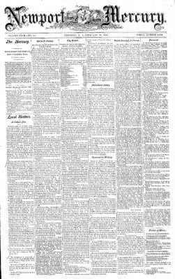 Newport Mercury from Newport, Rhode Island on February 10, 1900 · Page 1