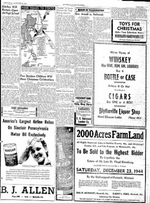 The Courier News from Blytheville, Arkansas on December 20, 1944 · Page 5