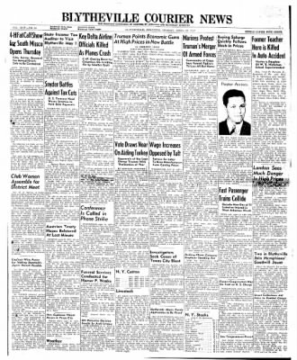 The Courier News from Blytheville, Arkansas on April 22, 1947 · Page 1
