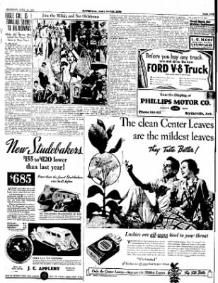 The Courier News from Blytheville, Arkansas on April 26, 1934 · Page 7