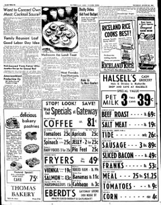The Courier News from Blytheville, Arkansas on August 30, 1951 · Page 12