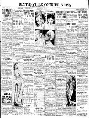 The Courier News from Blytheville, Arkansas on May 5, 1938 · Page 1