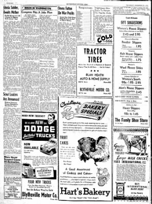 The Courier News from Blytheville, Arkansas on December 21, 1944 · Page 6