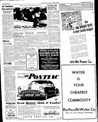 The Courier News from Blytheville, Arkansas on May 3, 1949 · Page 14