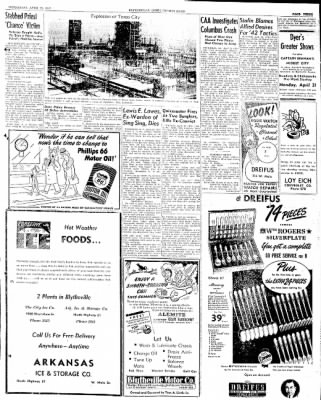 The Courier News from Blytheville, Arkansas on April 23, 1947 · Page 3