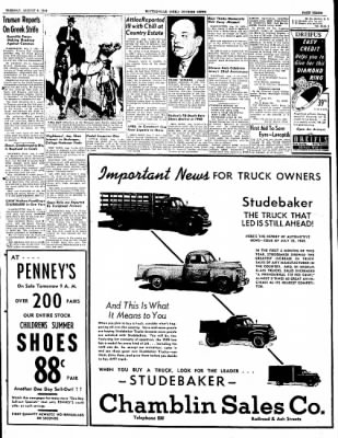 The Courier News from Blytheville, Arkansas on August 2, 1949 · Page 3