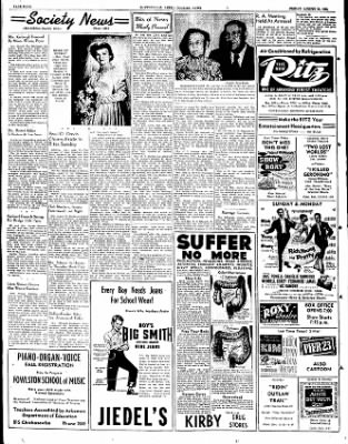 The Courier News from Blytheville, Arkansas on August 31, 1951 · Page 4