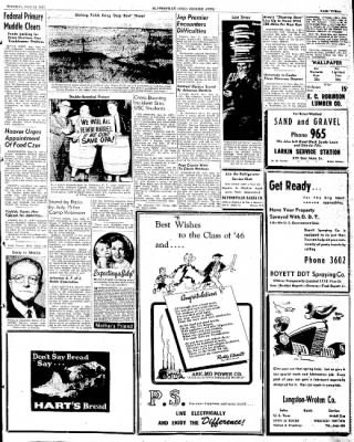 The Courier News from Blytheville, Arkansas on May 21, 1946 · Page 3
