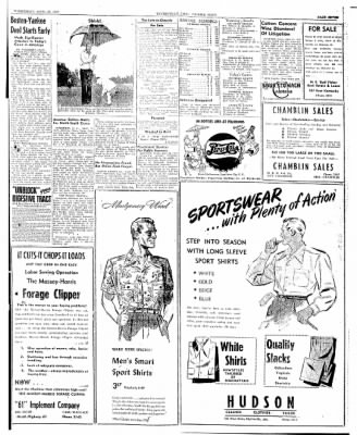 The Courier News from Blytheville, Arkansas on April 23, 1947 · Page 7