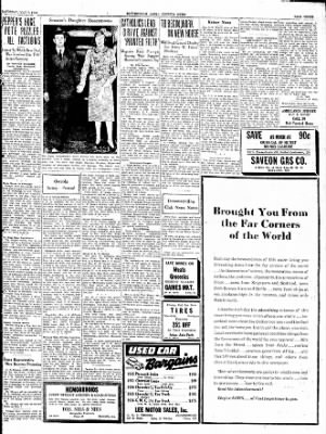 The Courier News from Blytheville, Arkansas on May 7, 1938 · Page 3