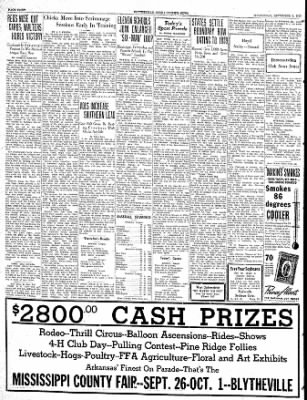 The Courier News from Blytheville, Arkansas on September 6, 1939 · Page 8