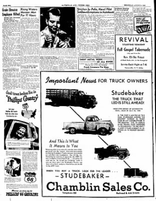 The Courier News from Blytheville, Arkansas on August 3, 1949 · Page 2