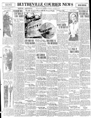 The Courier News from Blytheville, Arkansas on January 31, 1931 · Page 1