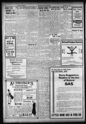 Arkansas Democrat from Little Rock, Arkansas on October 13, 1914 · Page 8
