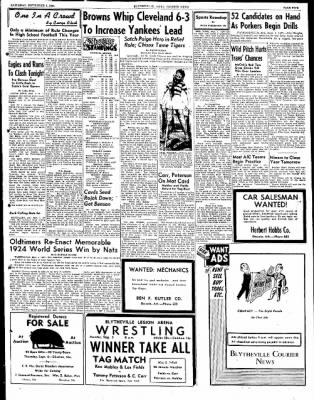 The Courier News from Blytheville, Arkansas on September 1, 1951 · Page 5
