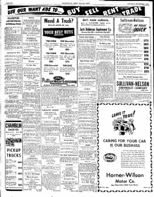 The Courier News from Blytheville, Arkansas on September 1, 1951 · Page 6