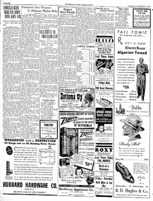 The Courier News from Blytheville, Arkansas on September 7, 1939 · Page 10