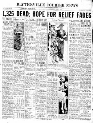 The Courier News from Blytheville, Arkansas on July 13, 1936 · Page 1
