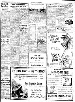 The Courier News from Blytheville, Arkansas on December 28, 1944 · Page 3