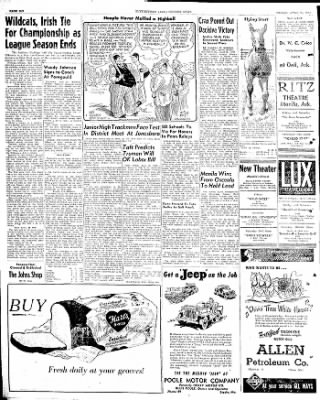 The Courier News from Blytheville, Arkansas on April 25, 1947 · Page 6