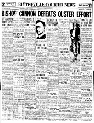 The Courier News from Blytheville, Arkansas on May 3, 1934 · Page 1