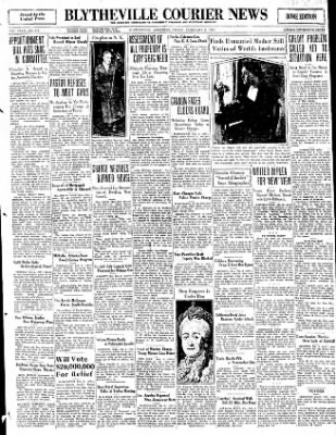 The Courier News from Blytheville, Arkansas on February 6, 1931 · Page 1