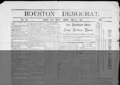 The Houston Democrat