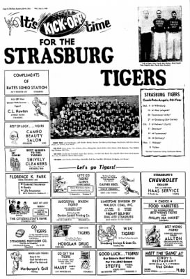 strasburg ohio newspaper