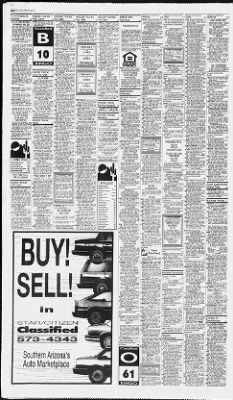 Arizona Daily Star from Tucson, Arizona on October 24, 1992