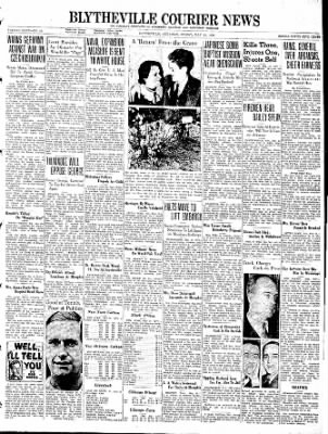 The Courier News from Blytheville, Arkansas on May 13, 1938 · Page 1