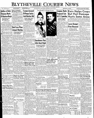 The Courier News from Blytheville, Arkansas on May 10, 1949 · Page 1
