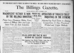 The Semiweekly Billings Gazette